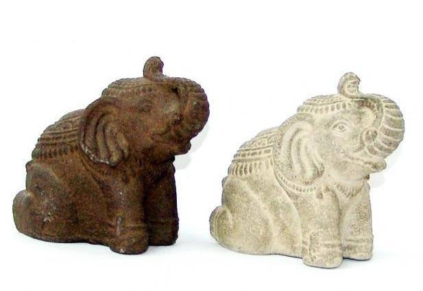 Фигурка из камня Слон Фед 22см