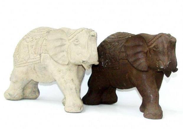Фигурка из камня Слон Эбнер 30 см.