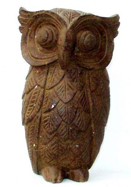 фигурка из камня Сова