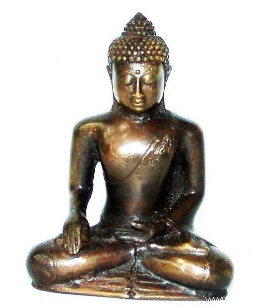 фигурка из бронзы Будда