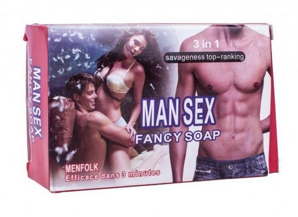 Мыло мужское FANCY-с афродизиак