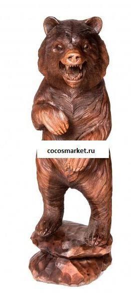 Фигурка Медведь высота 60 см