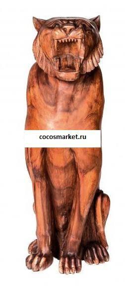 Фигура резная Тигр 80 см