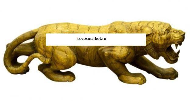 Фигура Тигр высота 60 см., длина175 см.