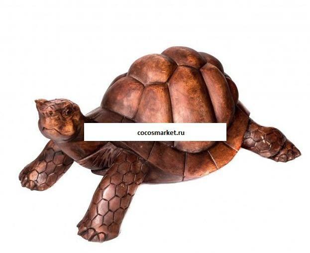 Фигура из дерева  Черепаха 60 см.