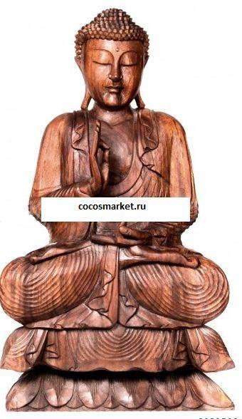 Фигура Будда высота  80 см.