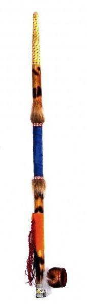 Трубка мира индейская 80 см.