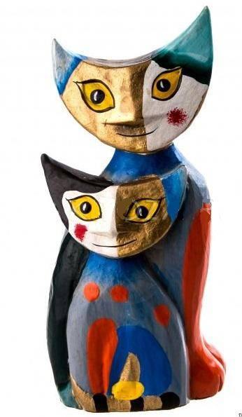Фигурки Кошки высота 20, 15 см.