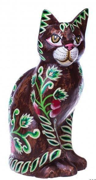 Фигурка мартовская кошка 20 см