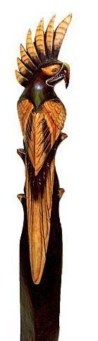 """Интерьерная статуэтка """"Попугай Какаду"""" 150cм."""