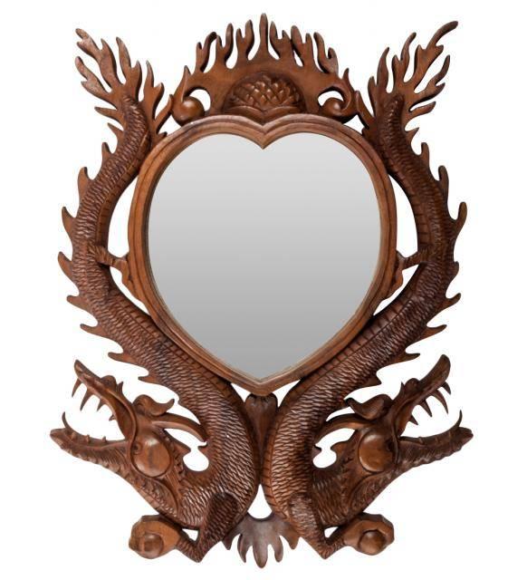 """Зеркало """"Два Дракона"""" (суар, о.Бали)"""