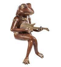 "Фигурка ""Лягушка-гитарист"" 35 см"