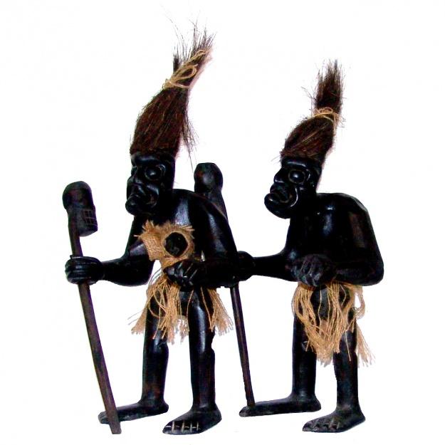 Аборигены племени Асмат 45 см