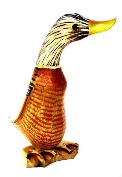Расписная фигурка Утка 17 см.
