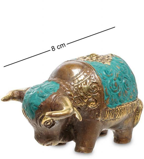 "Фигура ""Бизон"" бронза (о.Бали) 8 см"
