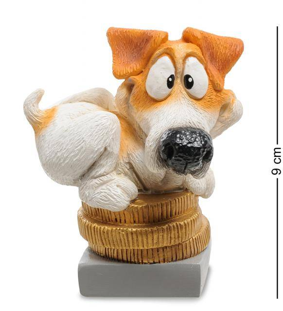 Статуэтка Собака Джек-Рассел терьер 9 см