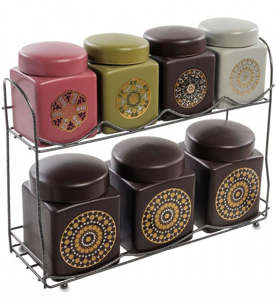 Набор керамических банок