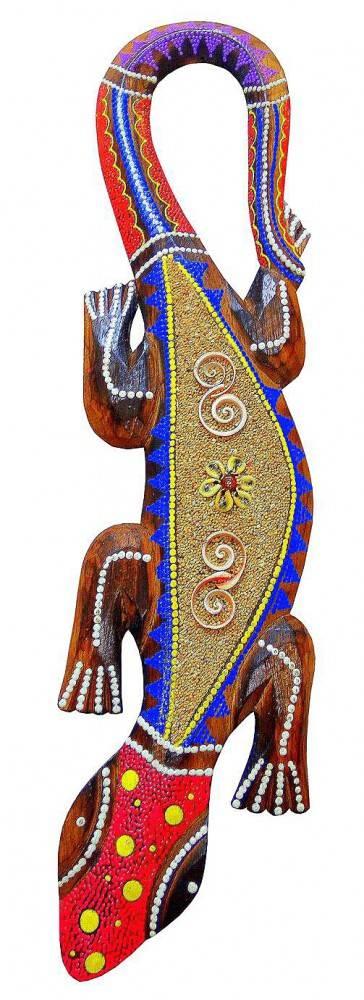 Декор панно-ящерица, 50см.