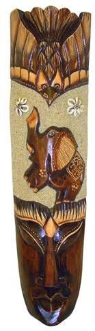 """Маска """"Бурунг"""" слон 50см. сложная резьба"""