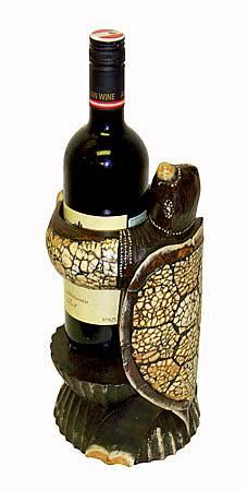 "Подставка под бутылку ""Черепаха"" 25см."