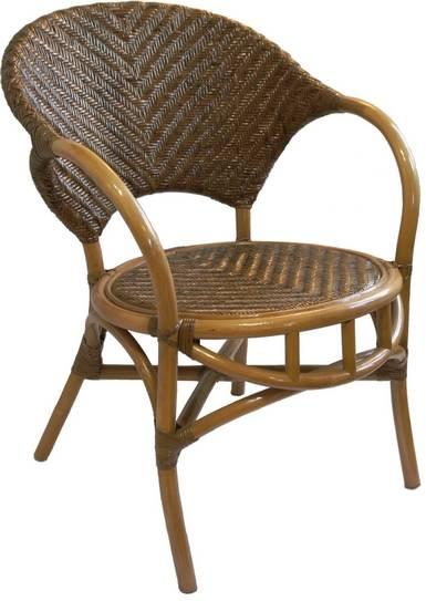 Кресло из натурального ротанга Ольга