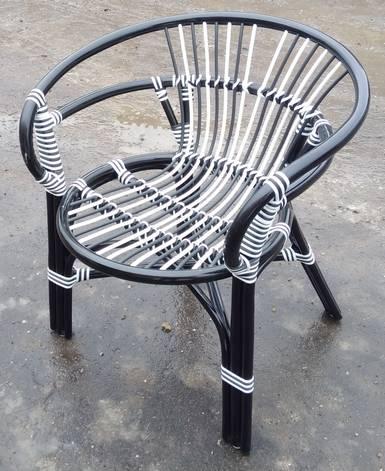 Кресло Вирджиния темного ротанга