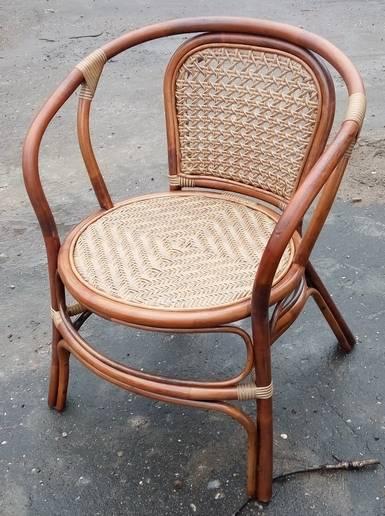 Кресло из натурального и искусственного ротанга Дакота