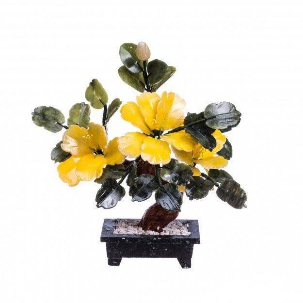 Цветок счастья Пион из камня 20 см. (3 шт.)
