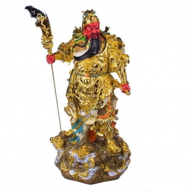 Фигура Гуань Гун Бог войны 56 см (гипсолит)