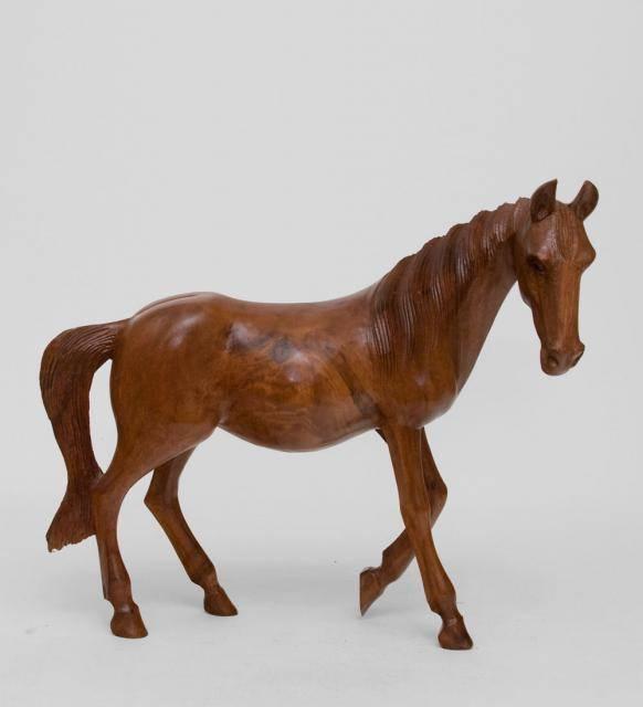 """Статуэтка настольная """"Изящная лошадь"""" 40 см ."""