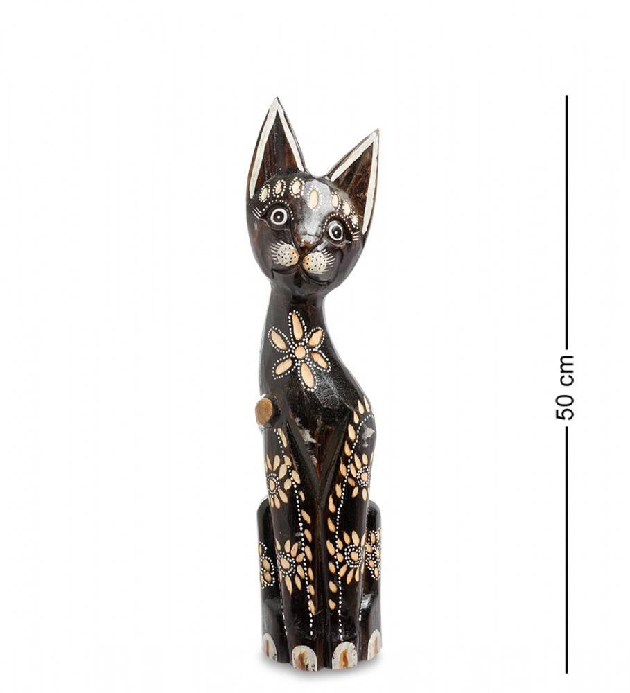 """Статуэтка """"Кошка с цветочком"""" 50 см"""