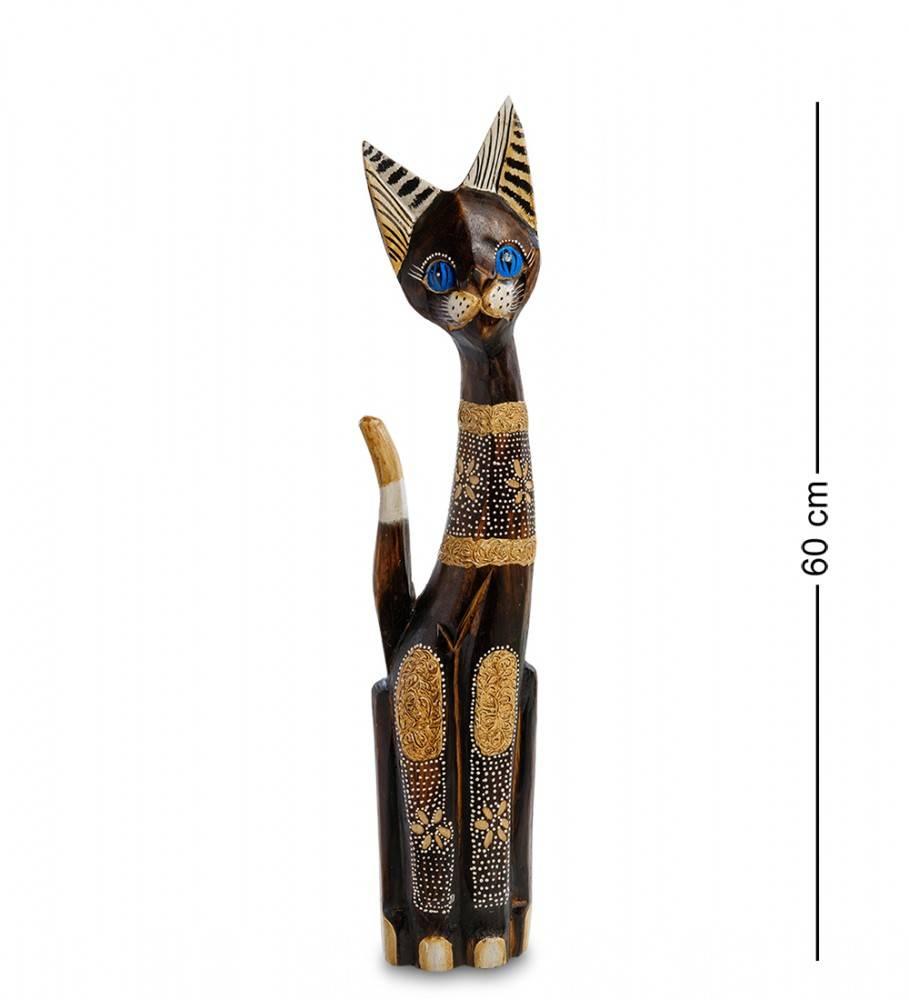 """Статуэтка """"Кошка Барта"""" 60 см (албезия, о.Бали"""