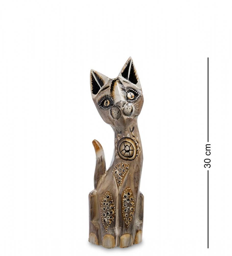 """Статуэтка """"Кошка Замора"""" 30 см (албезия, о.Бали)"""