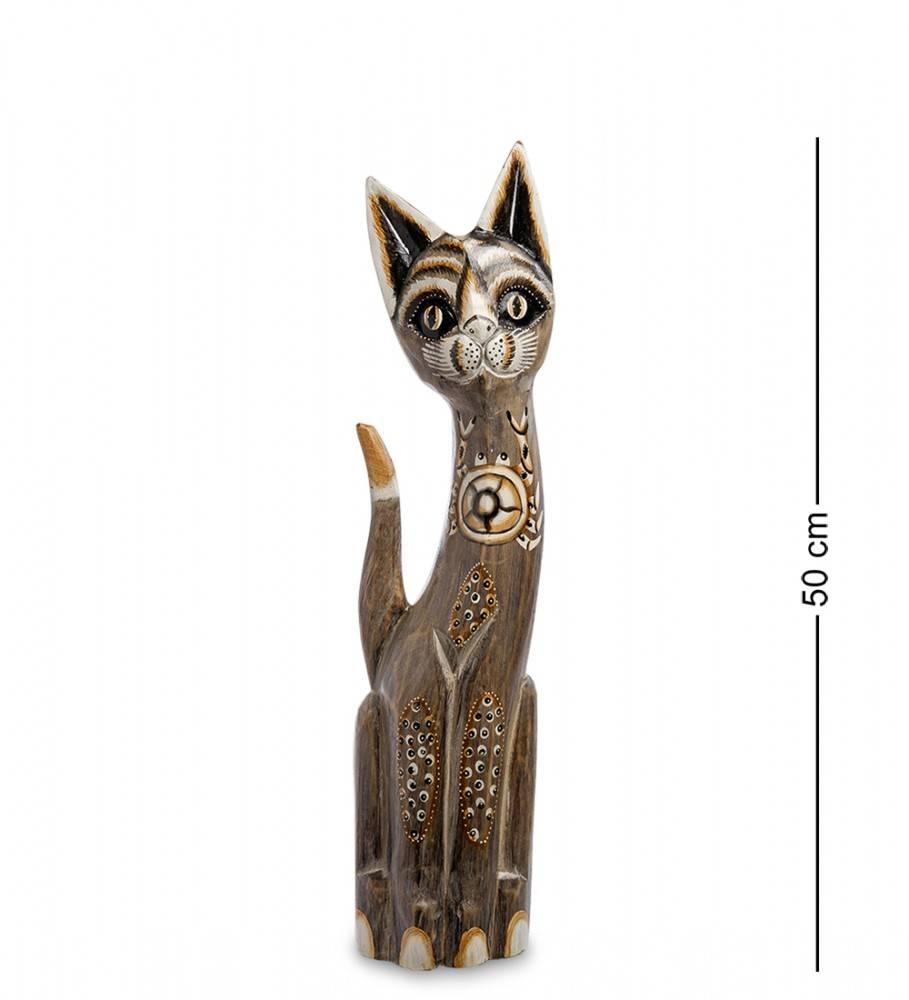 """Статуэтка """"Кошка Итси"""" 50 см (албезия, о.Бали)"""