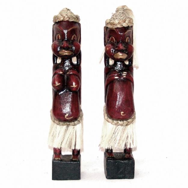 Фигурки из дерева Африканцы 33 см. (2 шт.)