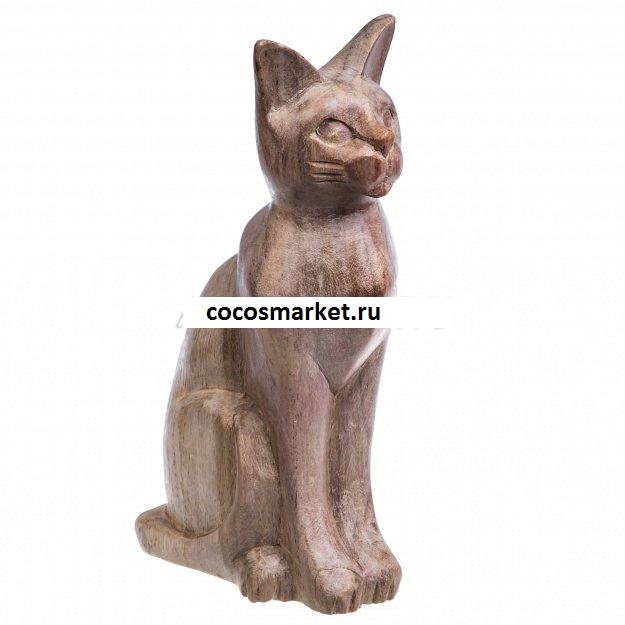 Фигурка из дерева соно Кошка Ассоль 20 см