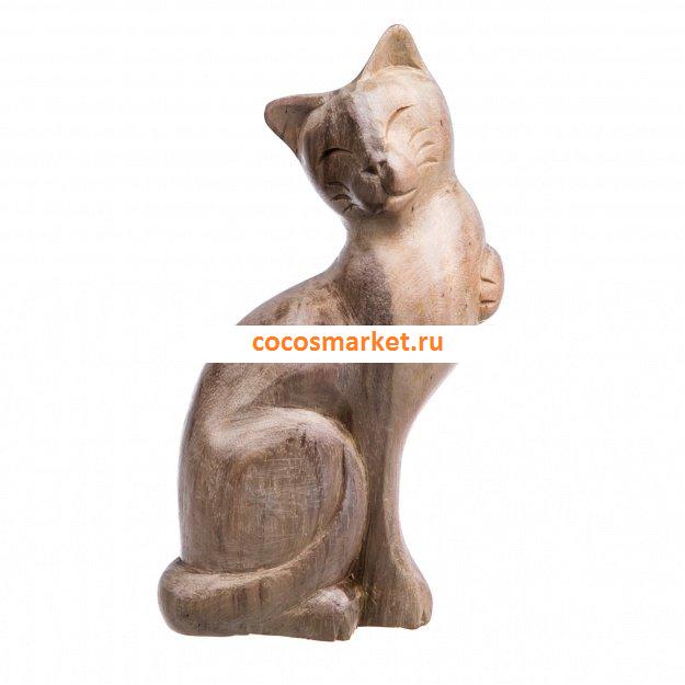 Фигурка Кошка Форри 15 см (дерево соно)