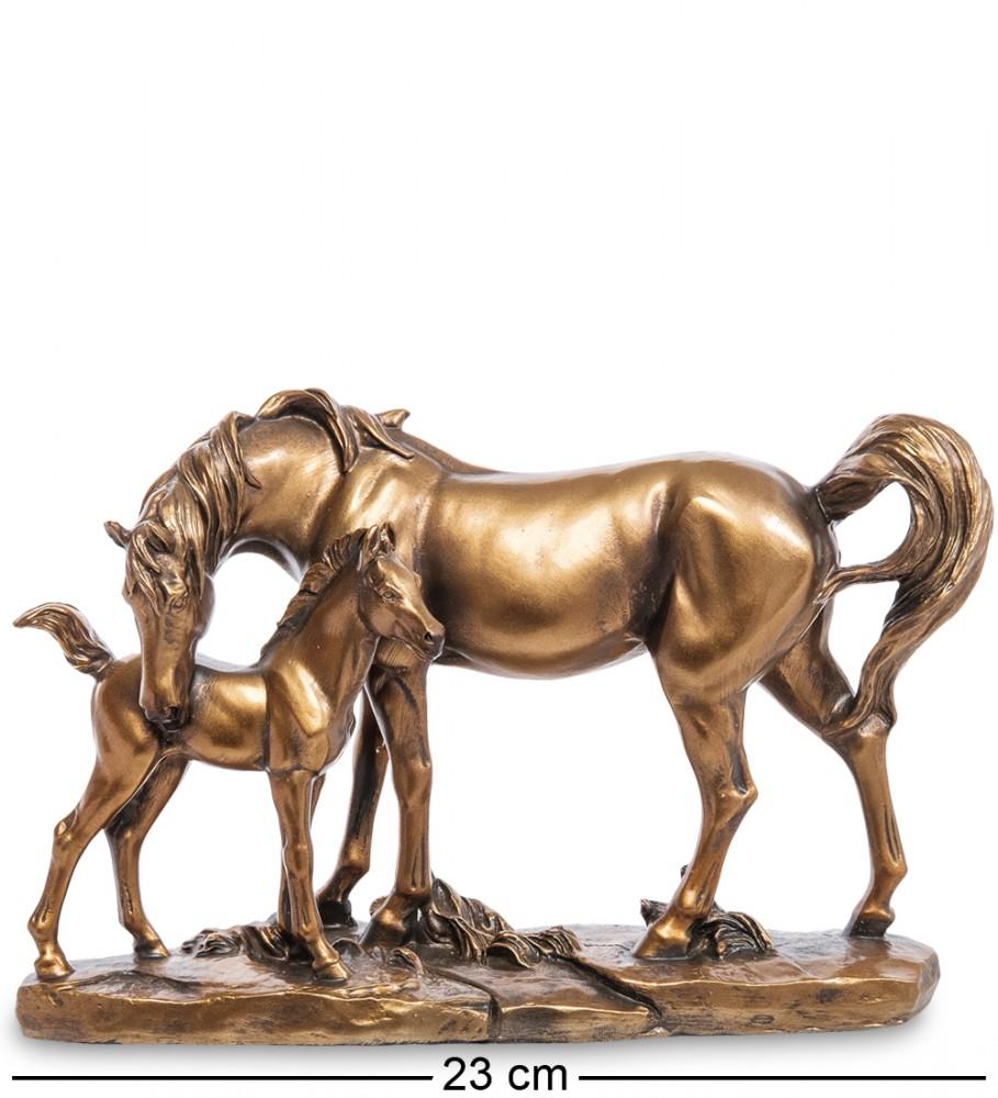 "Фигура ""Лошадь с жеребенком"" 23 см"