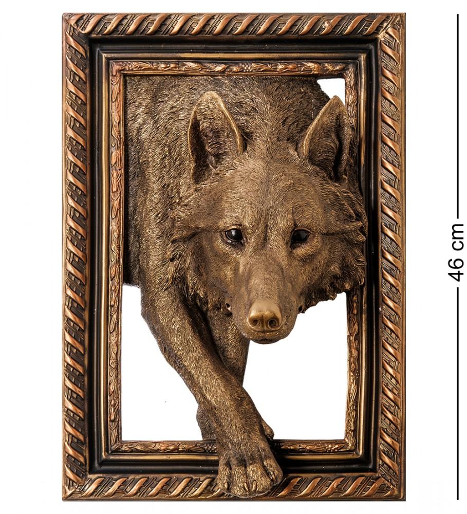 """Панно настенное """"Волк"""" 46 см"""