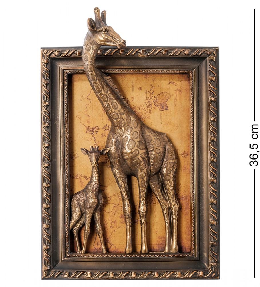 """Панно настенное """"Жирафы"""" 36,5 см"""