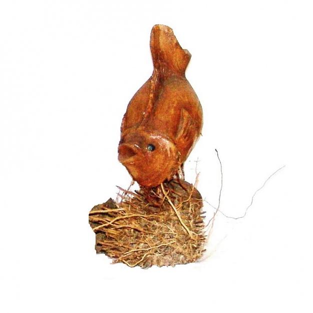 Фигура Рыба 30 см (корень бамбука)