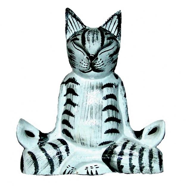 Фигурка кота Йога 20 см