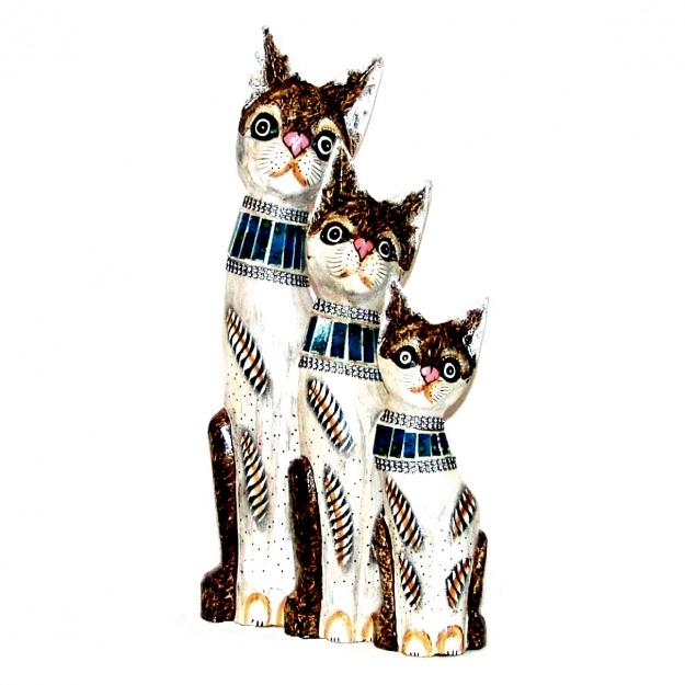 статуэтки Коты в синем ошейнике