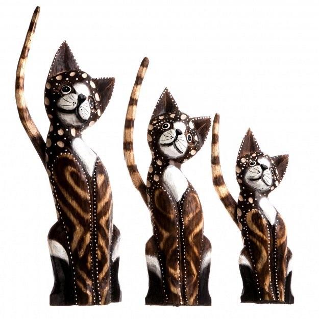 Сувениры коты 20,25,30 см