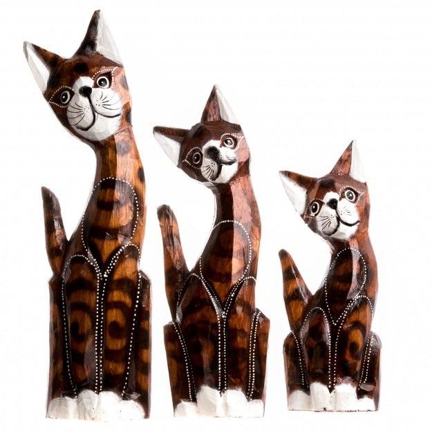 Статуэтки рыжих котов 20,25,30 см