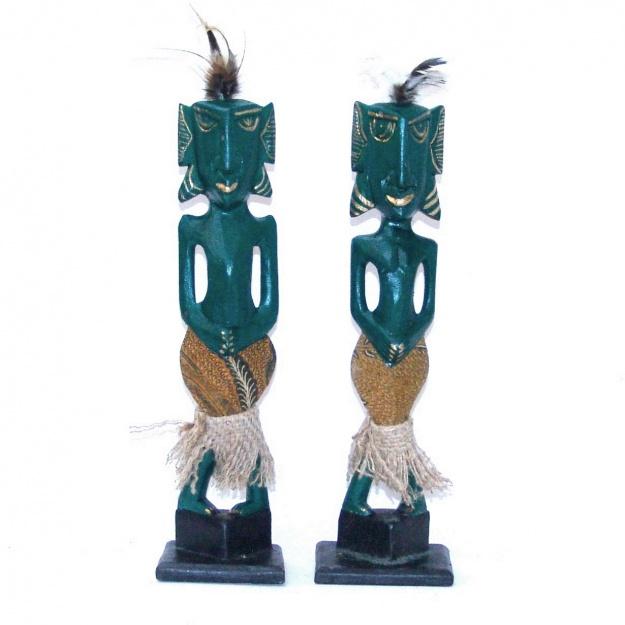Фигурки из дерева Африканы 33 см