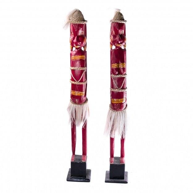 Фигурки Пара аборигенов 100 см