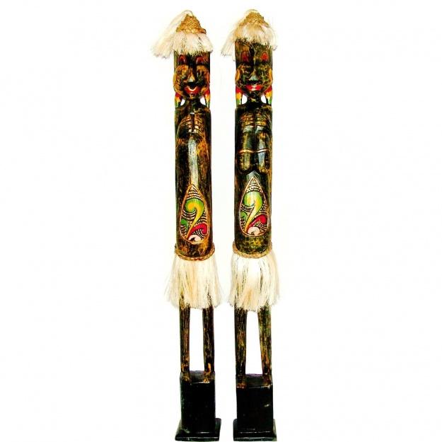 Фигурки аборигены в юбках 100 см