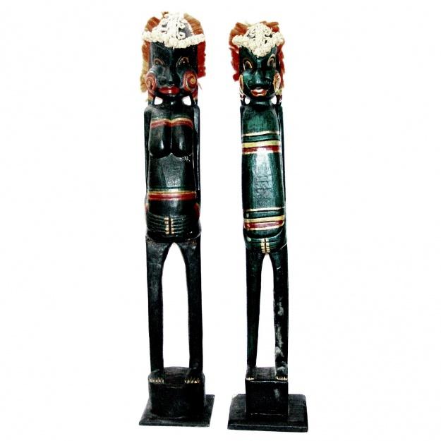 Напольные статуэтки аборигены 100 см