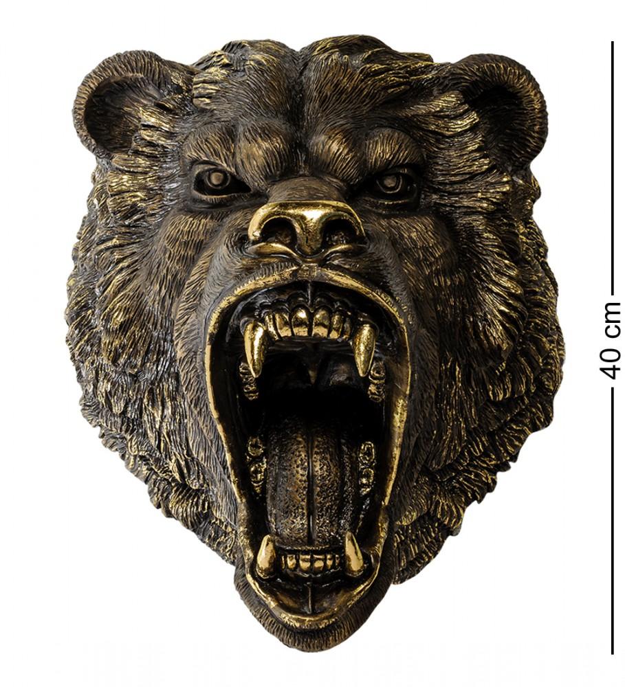 """Настенная фигура """"Рычащий медведь"""" 50 см"""